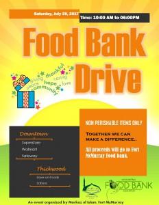 2nd Foodbank drive 2017 V1