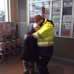 Cub hug