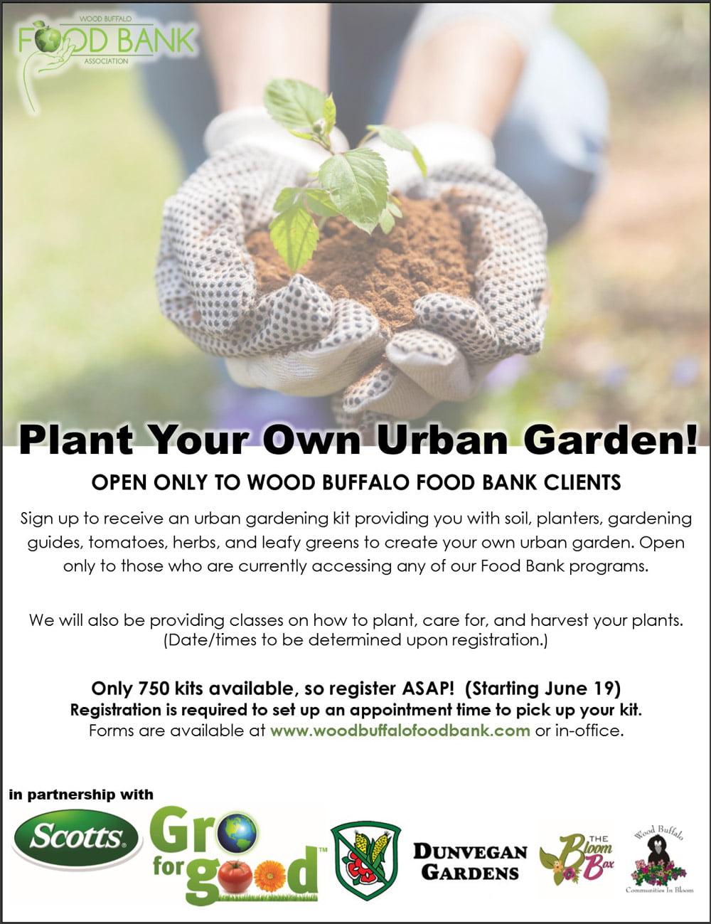 Grow for Good Program - Urban Gardening