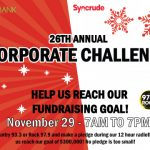 Syncrude Corporate Challenge on November 29, 2018
