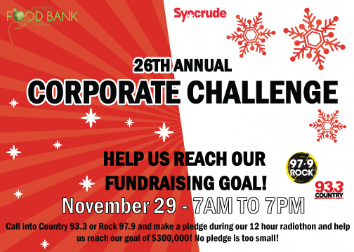 Syncrude Corporate Challenge on November 29, 2018